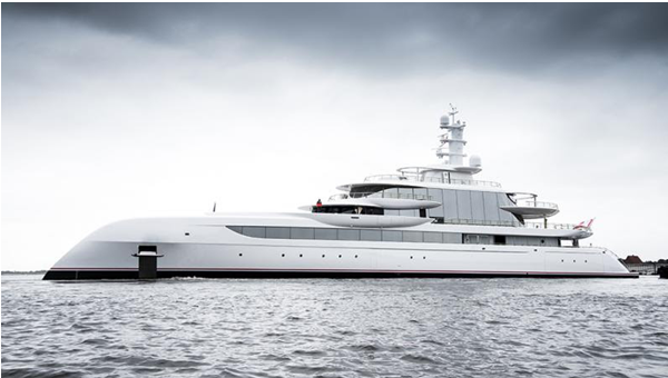 The most luxurious yachts of 2021
