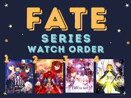 Order to watch fate series